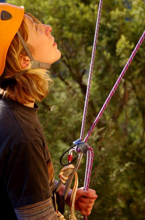 Become an attentive and skillful belayer