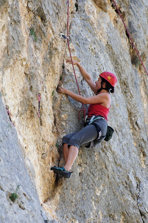 Abella de la Conca has some of the friendliest beginner routes in Catalunya to take your first steps