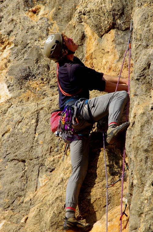 Once you´ve learnt the art of trad placements a whole new world of climbing opens up